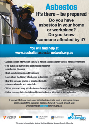 Campaign on the enduring impacts of asbestos.