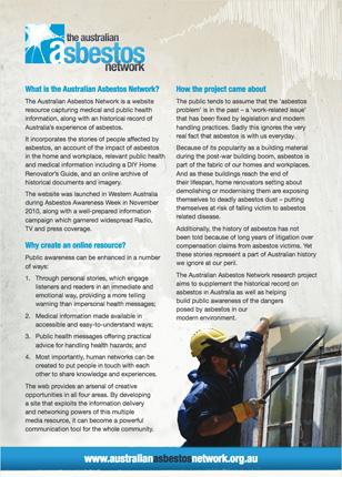 Asbestos campaigns
